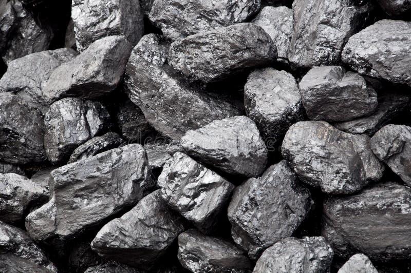 Pile de charbon photographie stock