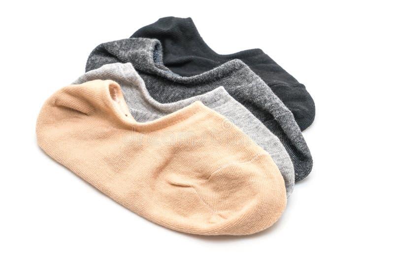 pile de chaussettes courtes photo stock