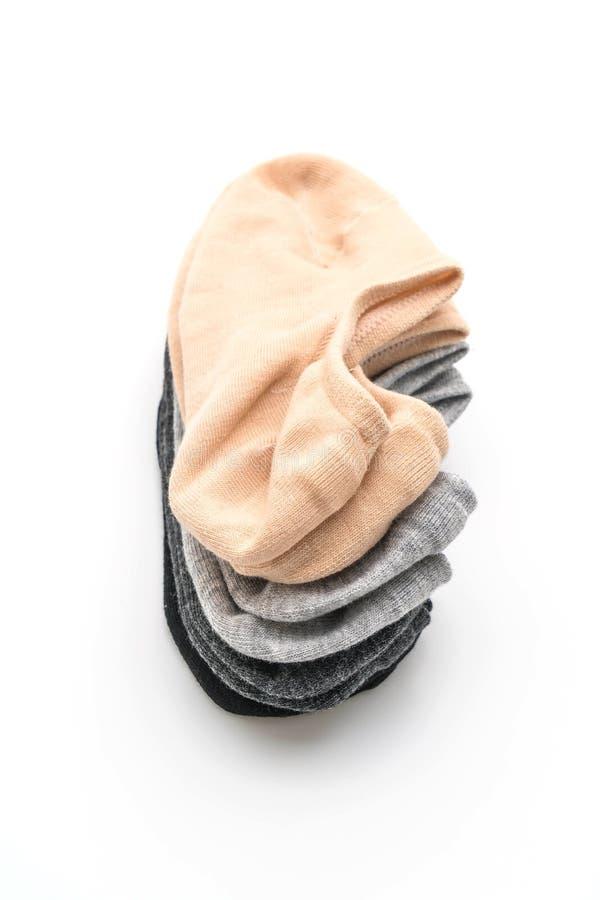 pile de chaussettes courtes photographie stock