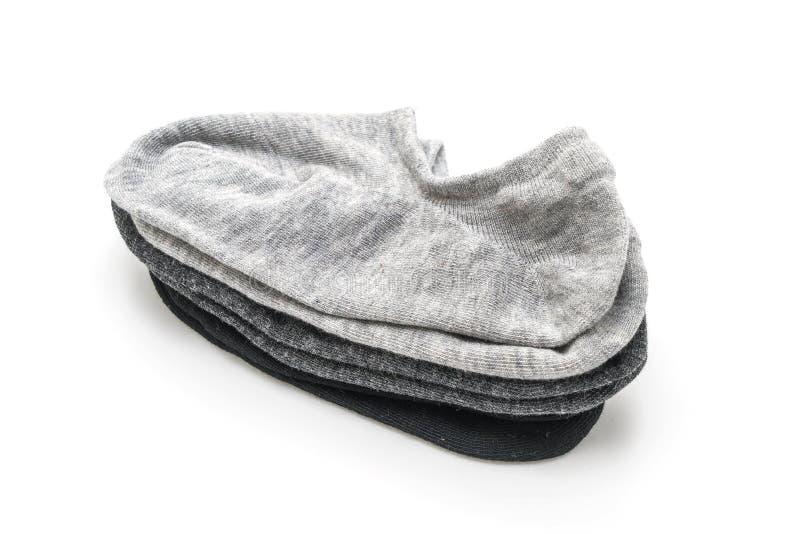 pile de chaussettes courtes image stock