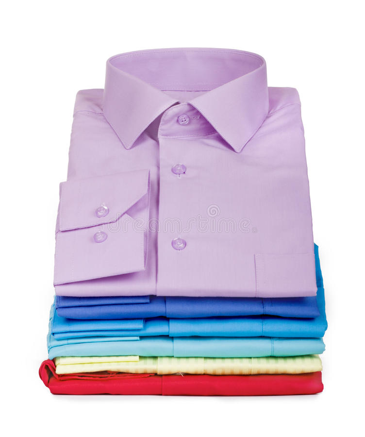 Pile de chemises photo libre de droits