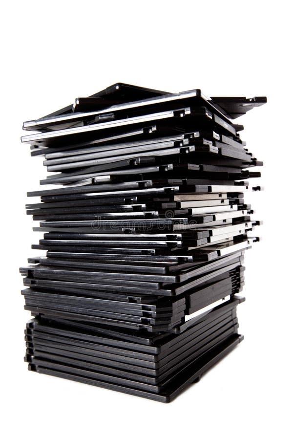 Pile de disques souples photos stock