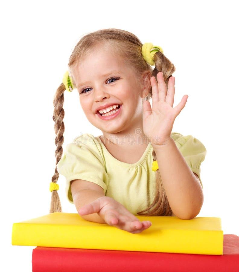 Pile de fixation d'enfant des livres. image libre de droits