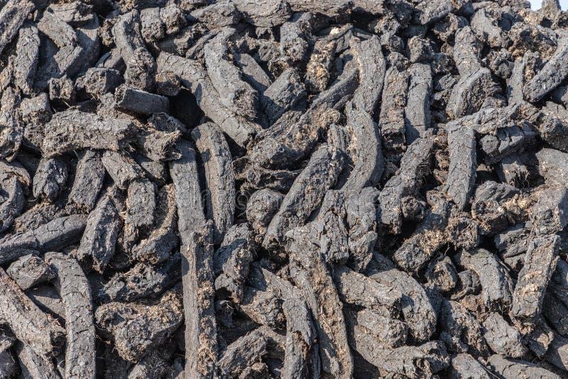 Pile de gazon sec photo stock