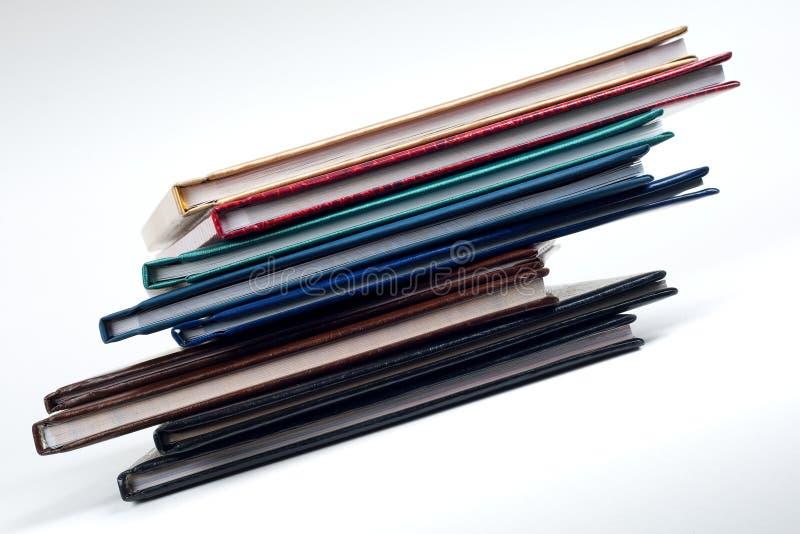 Pile de livre moyenne image stock