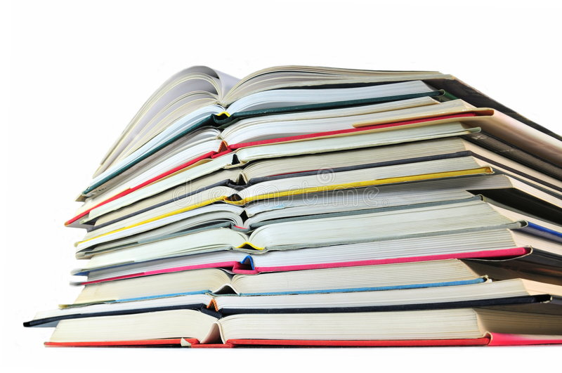 Download Pile de livres photo stock. Image du éducation, graduation - 8662684