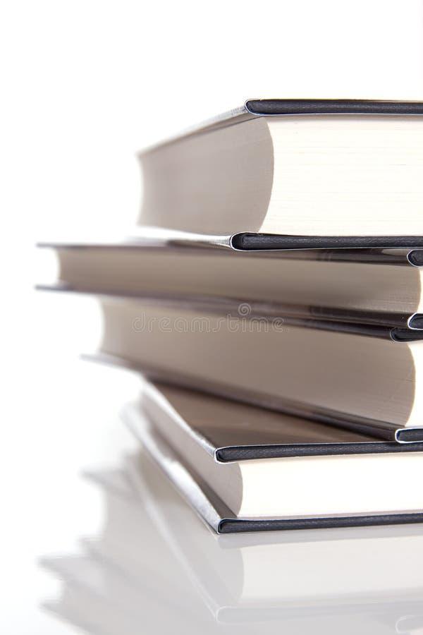 Pile de livres couverts durs photos libres de droits