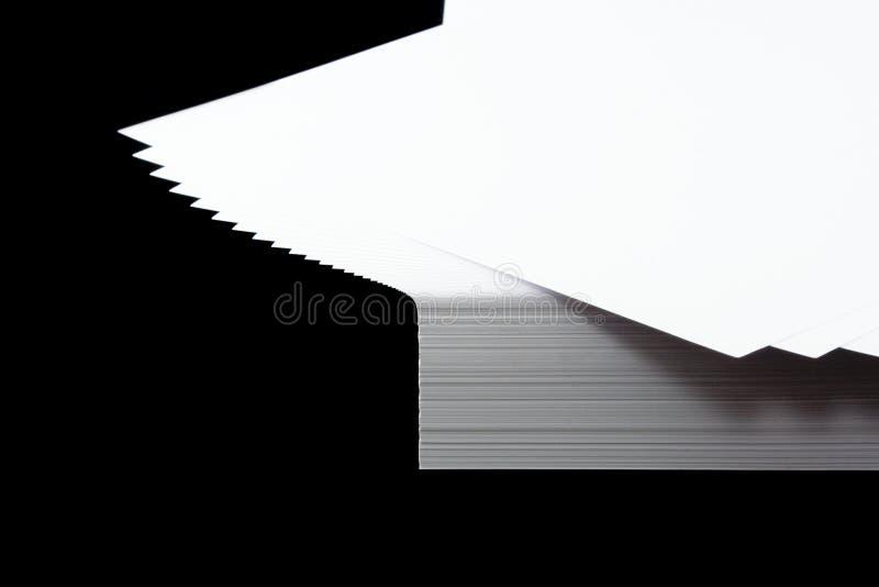 Pile de papier A4 photographie stock libre de droits