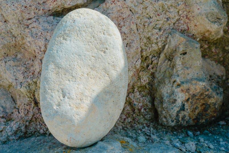 Pile de paysage naturel d'abrégé sur pierres images libres de droits