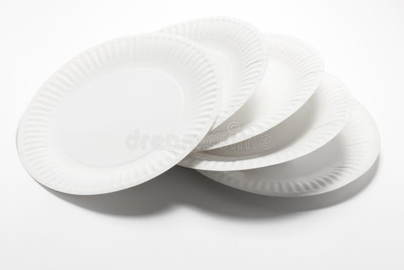 Pile de plaques à papier image libre de droits
