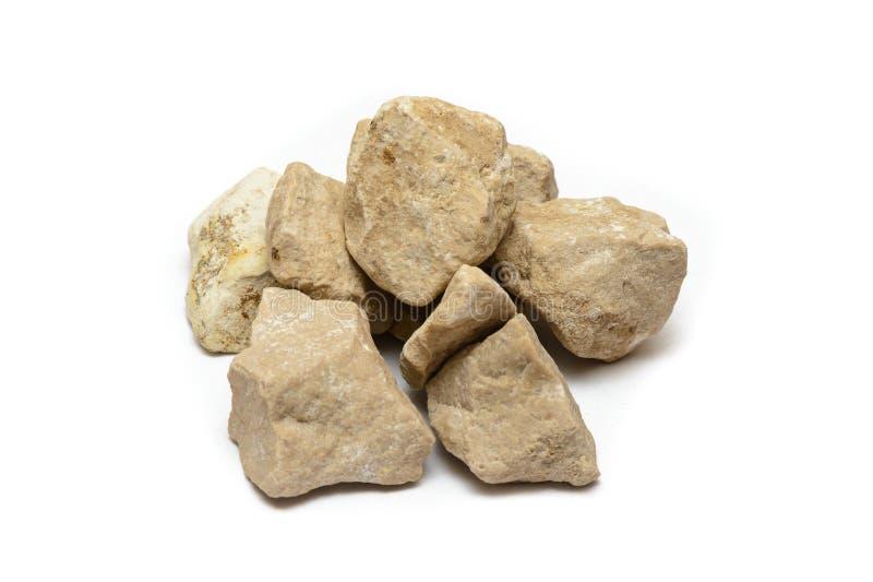 Pile de plusieurs pierres légères images stock