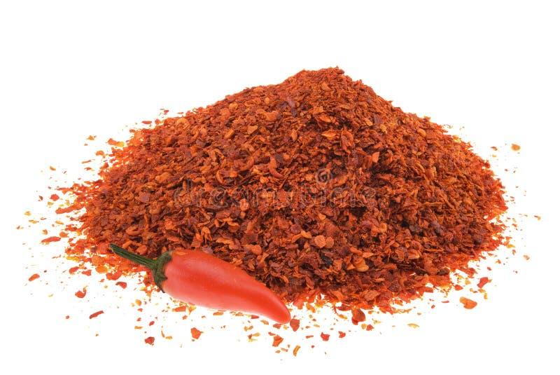 Pile de poivre de s/poivron image stock