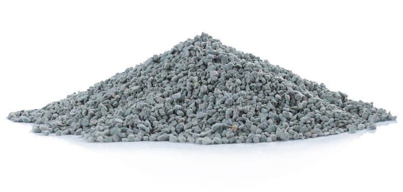 Pile de roche verte image stock