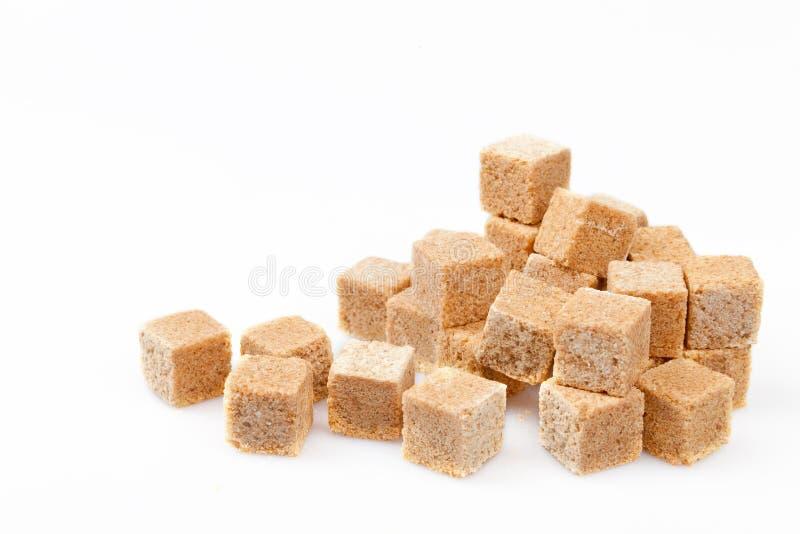 Pile de sucre de canne images libres de droits