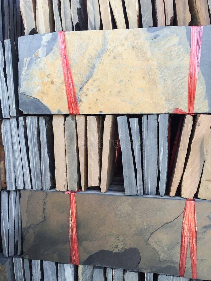 Pile de texture de granit photos libres de droits