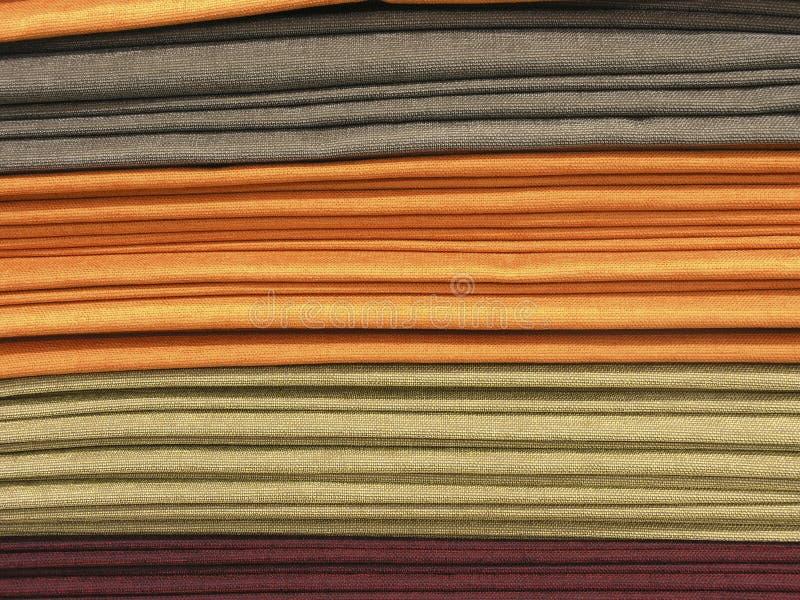 Pile de tissus photo libre de droits