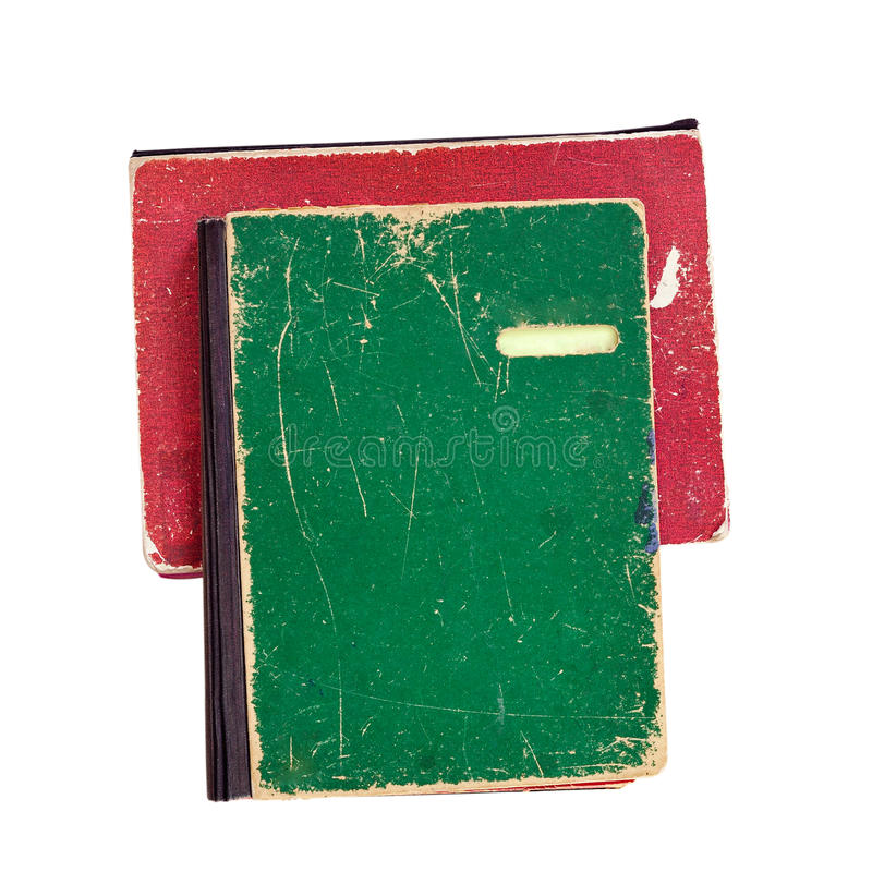 Pile de vieux fichiers papier photos libres de droits