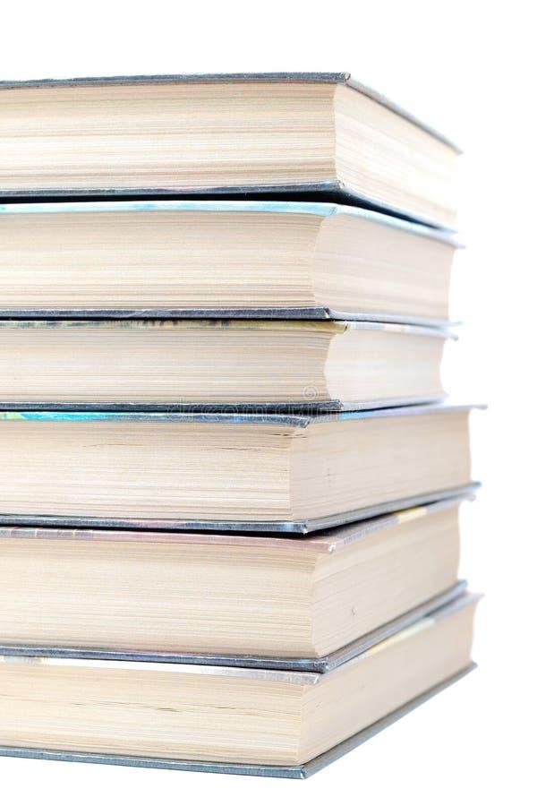 Pile de vieux livres image stock