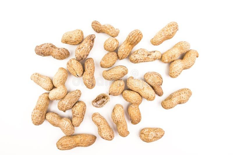Pile des arachides image libre de droits