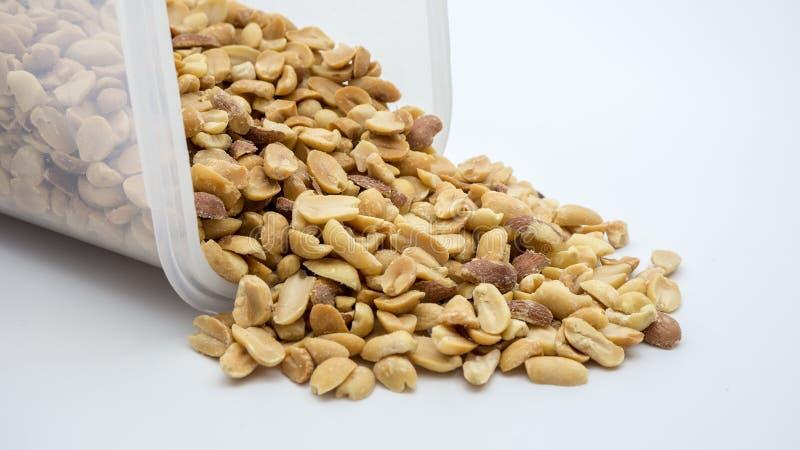 Pile des arachides photo stock