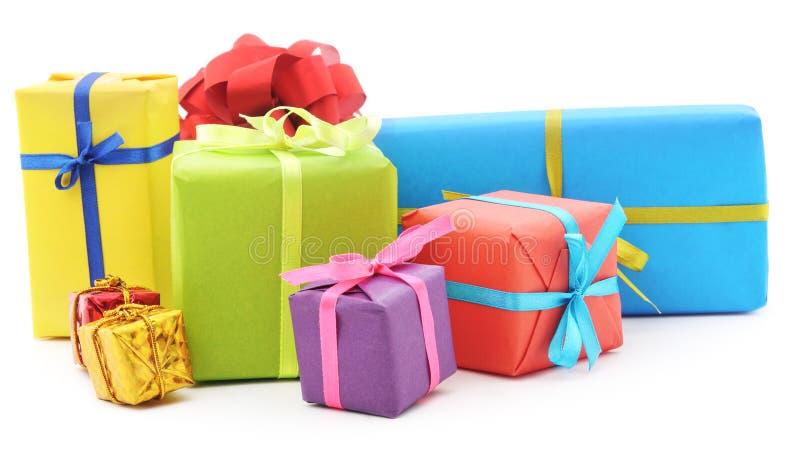 Pile des cadeaux photo stock