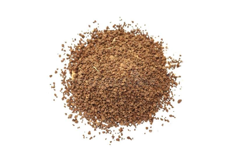 Pile des granules de Masala Chai photo libre de droits