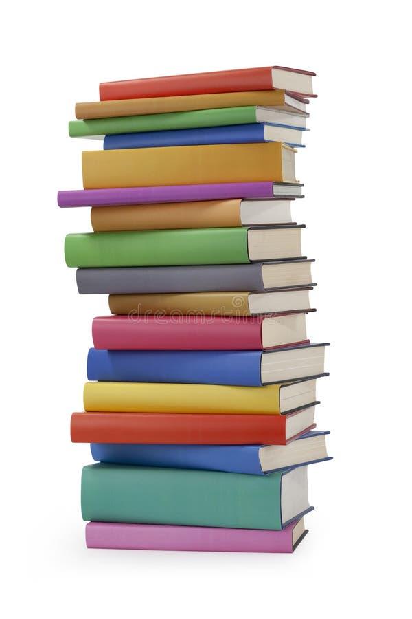 Pile des livres photographie stock