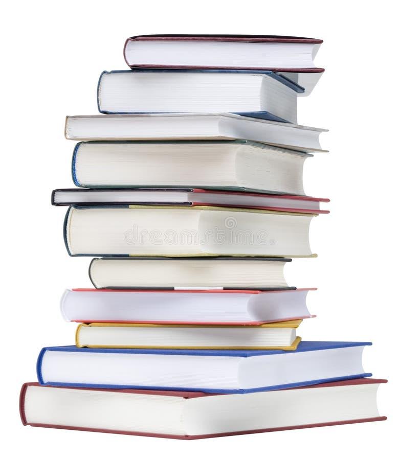 Pile des livres image stock