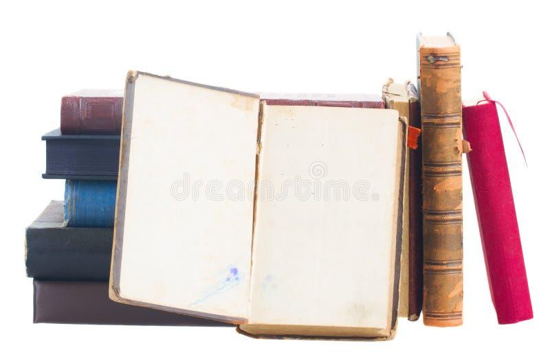 Pile des livres photos stock
