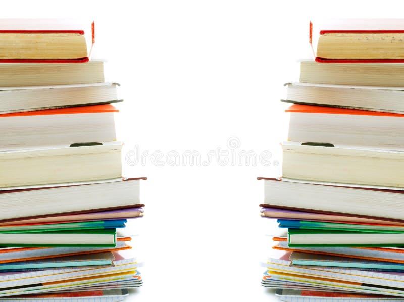 Pile des livres. photos libres de droits