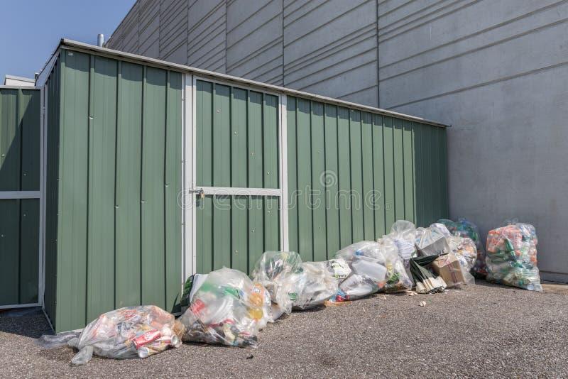Pile des ordures image libre de droits