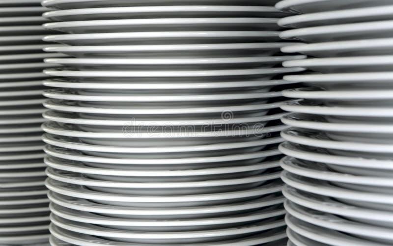 Pile des paraboloïdes image stock