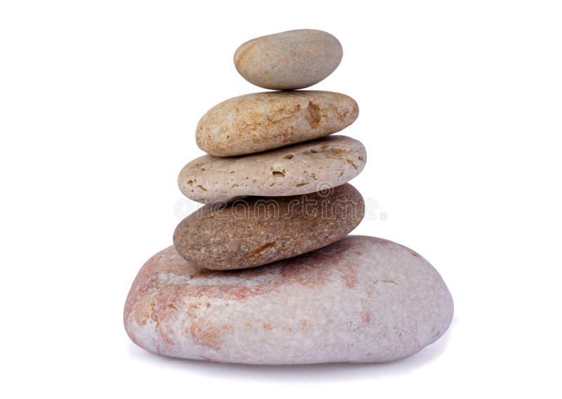 Pile des pierres images libres de droits