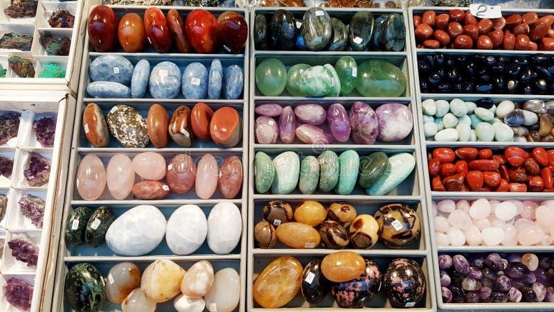 Pile des pierres semi précieuses photo libre de droits