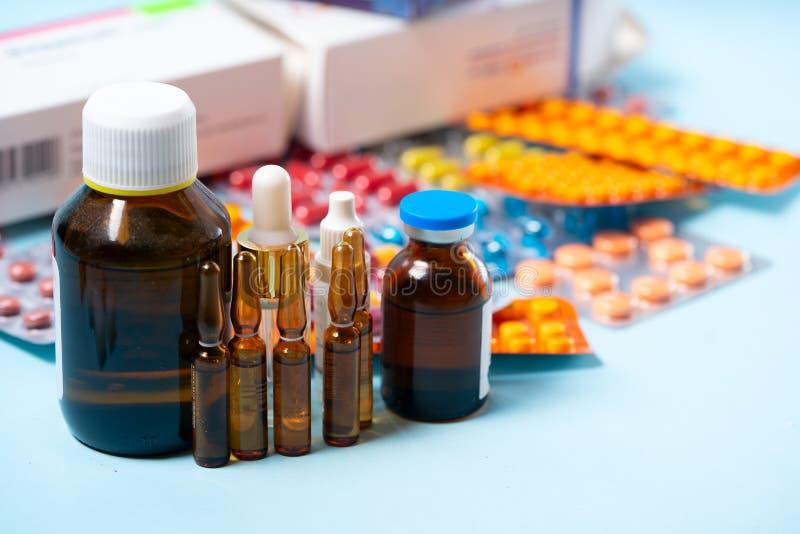 Pile des pilules image stock