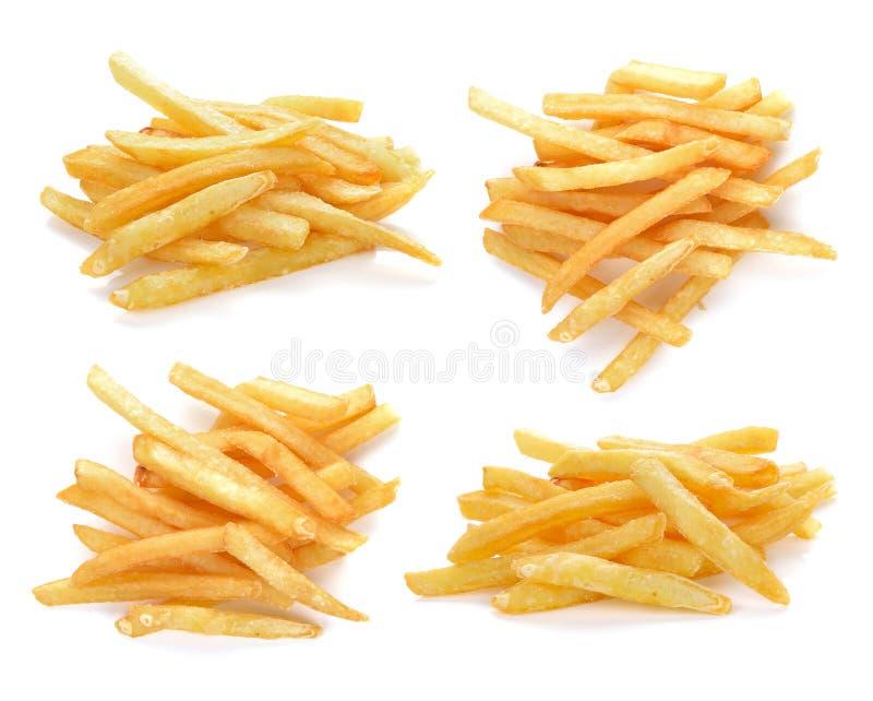 Pile des pommes frites appétissantes photographie stock libre de droits