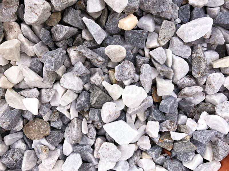 Pile des roches d'en haut photos libres de droits