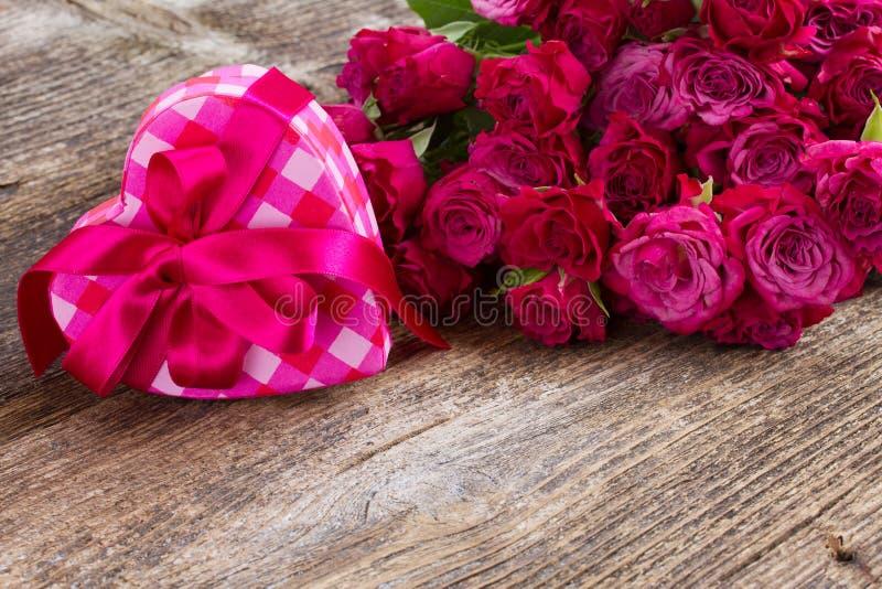 Pile des roses mauve images libres de droits