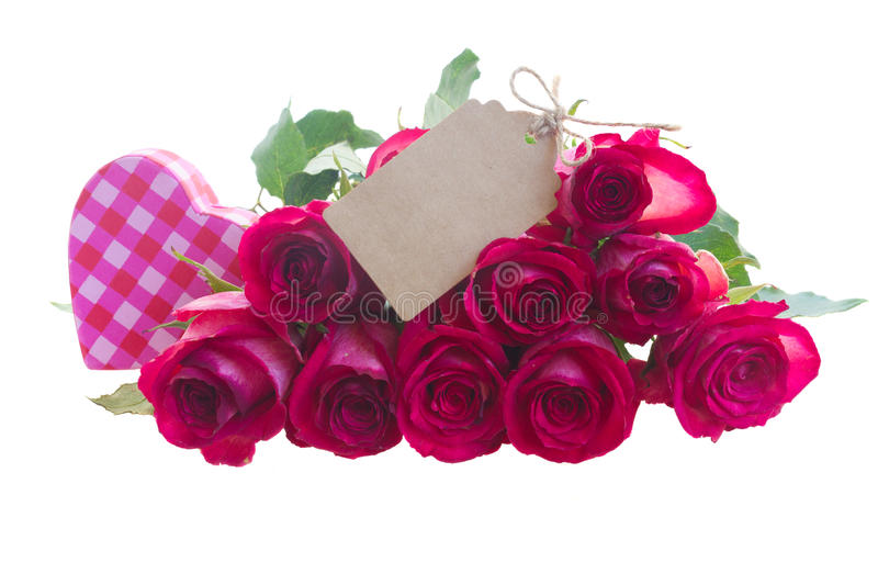 Pile des roses rouges photos libres de droits