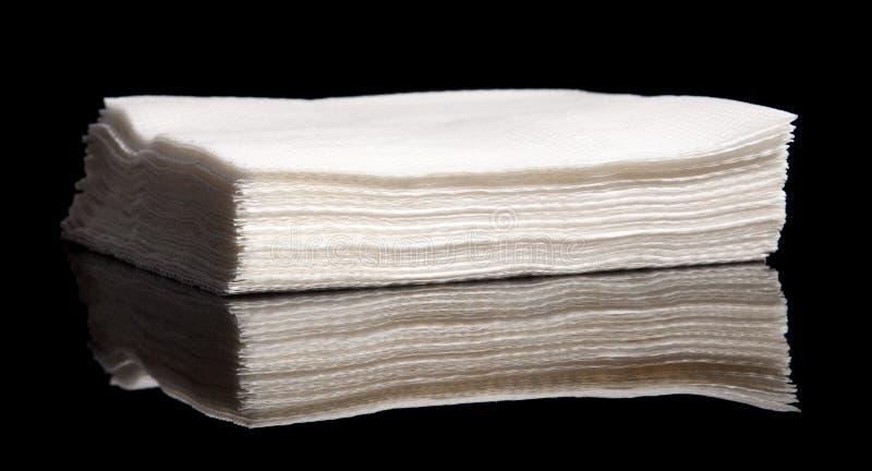 Pile des serviettes image libre de droits