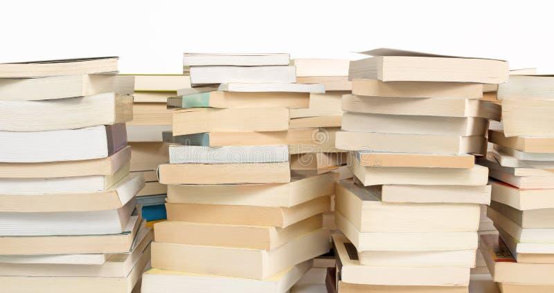 Pile di libri fotografia stock libera da diritti