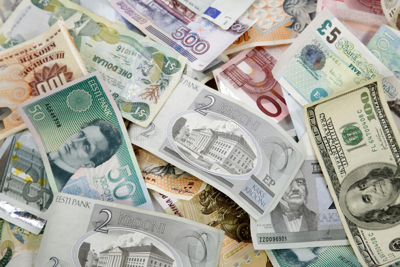 Download Pile Of Different Currencies Stock Photo - Image of financing, green: 14138720