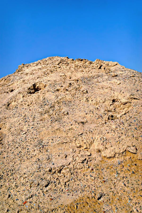 Download Pile of Dirt and Gravel stock image. Image of vertical - 17077991
