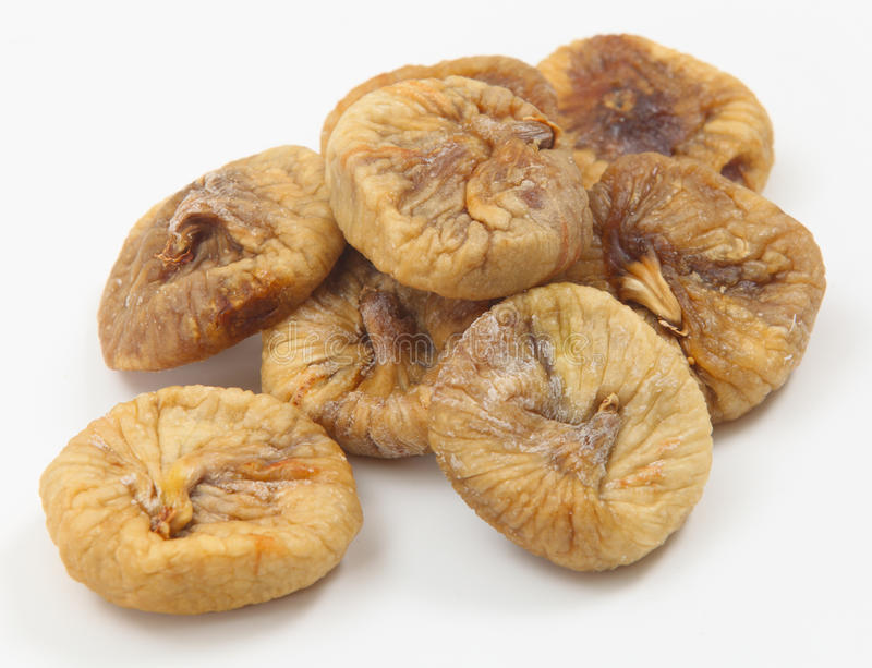 Pile of dried figs royalty free stock photo