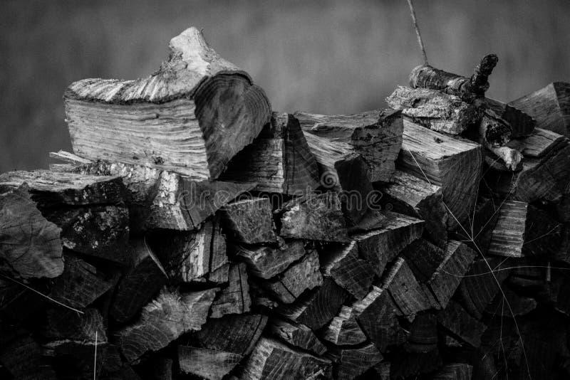 Pile en bois photo libre de droits