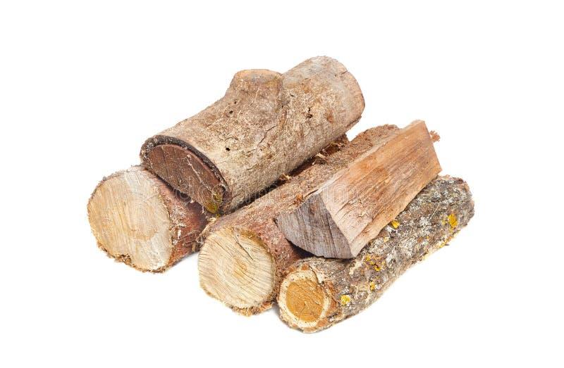 Pile en bois de rondin photos stock