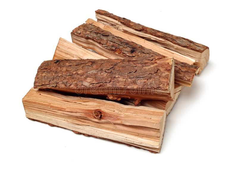 Pile of firewood royalty free stock photo