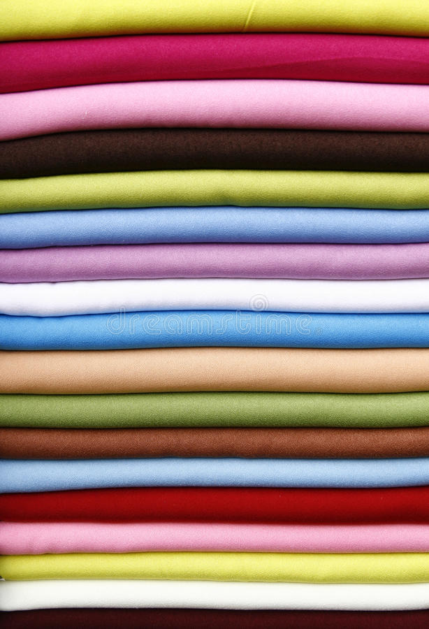 Download Pile Of Gentle Folded Shawls Stock Image - Image: 10828481