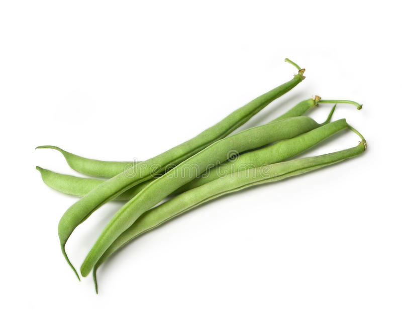 Pile of green french beans royalty free stock images