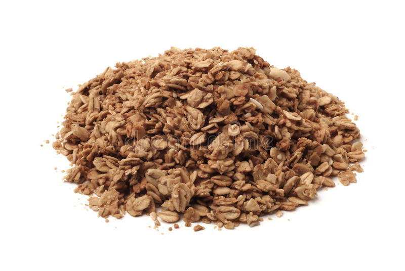 Pile Of Healthy Granola Stock Photo